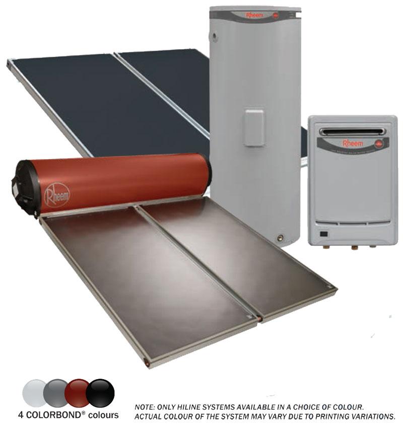rheem solar hot water agents penrith