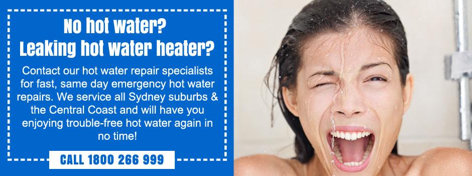 emergency hot water heater repairs penrith